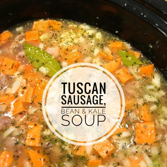 Tuscan Bean and Sausage Soup